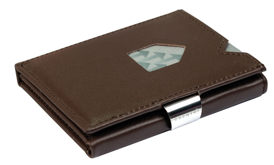 Exentri RFID Wallet Brown