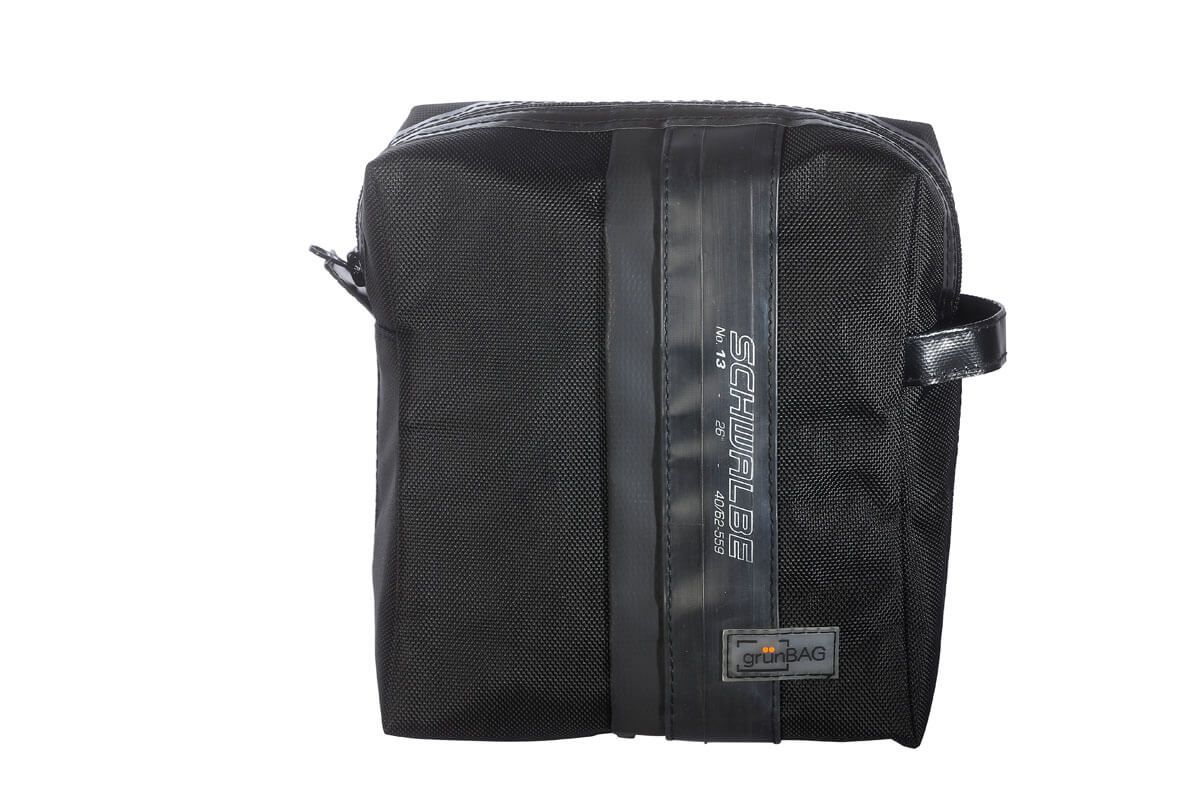grünBAG Toiletry Big Black