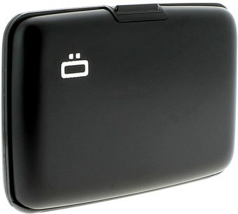 Ögon Card Case Zwart