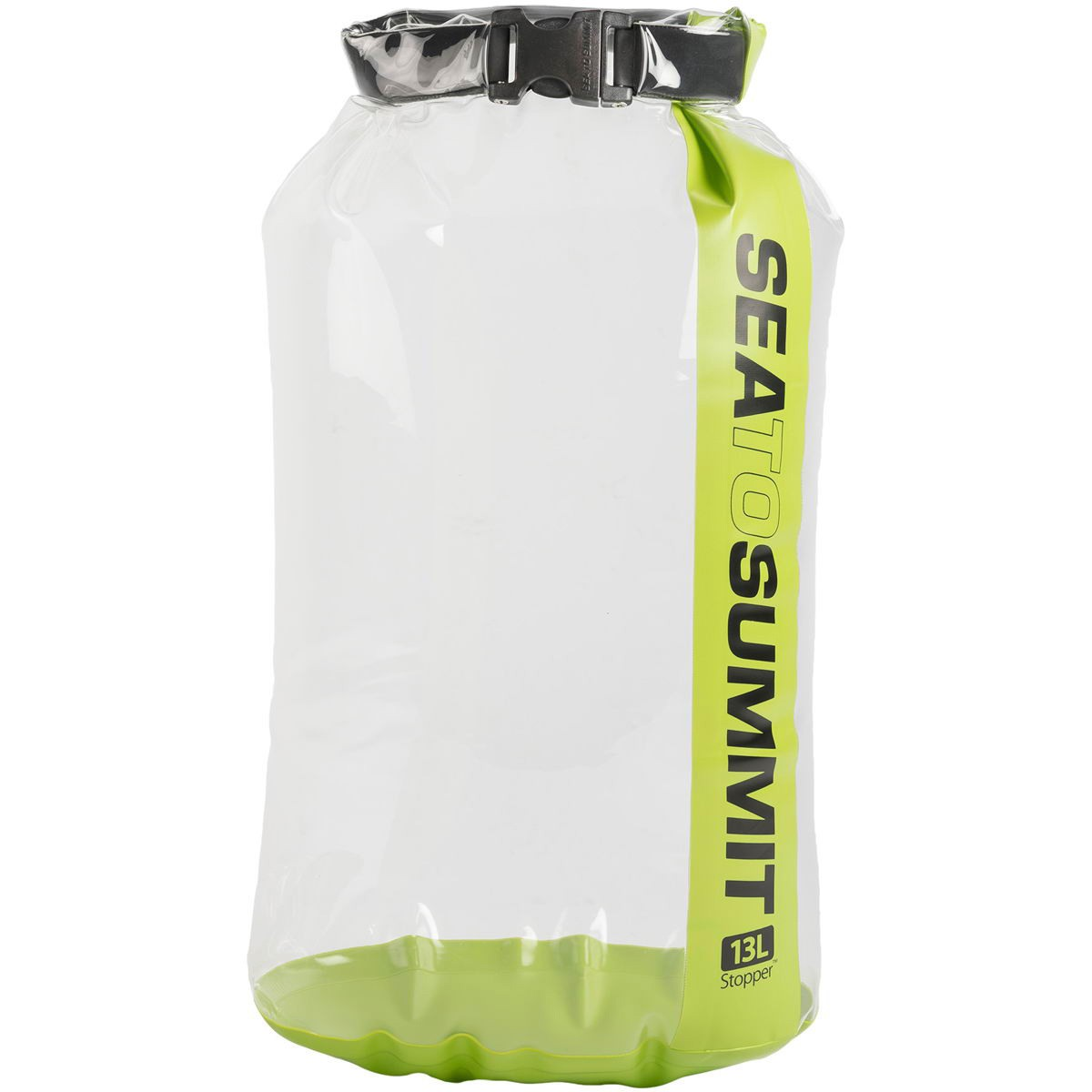 Sea To Summit Stopper Clear Dry Bag 13L Green