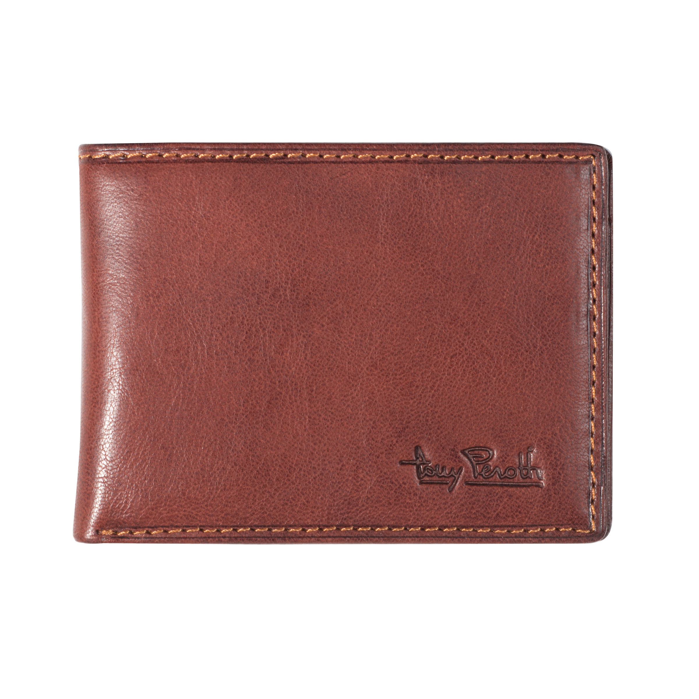 Tony Perotti American Billfold small Brown
